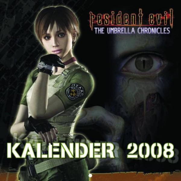 Resident Evil - Wandkalender (2008)