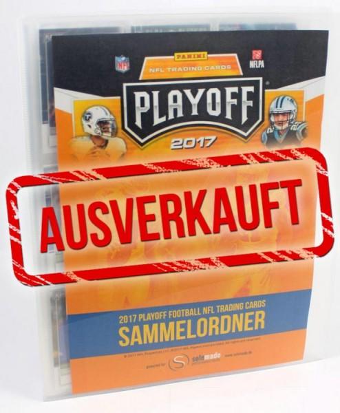 NFL 2017 Playoff Trading Cards - Sammelordner