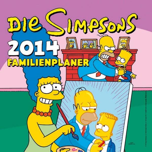 Simpsons - Familienplaner 2014
