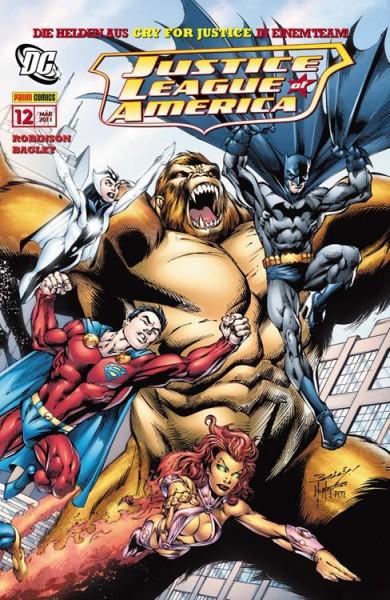 Justice League of America Sonderband 12: Teamwork