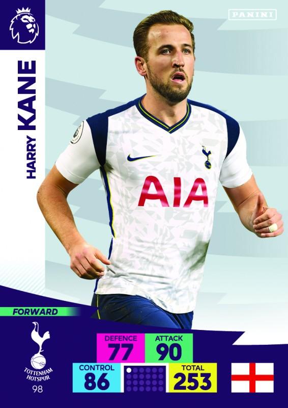 Panini Premier League Adrenalyn XL 2020/21 - Harry Kane