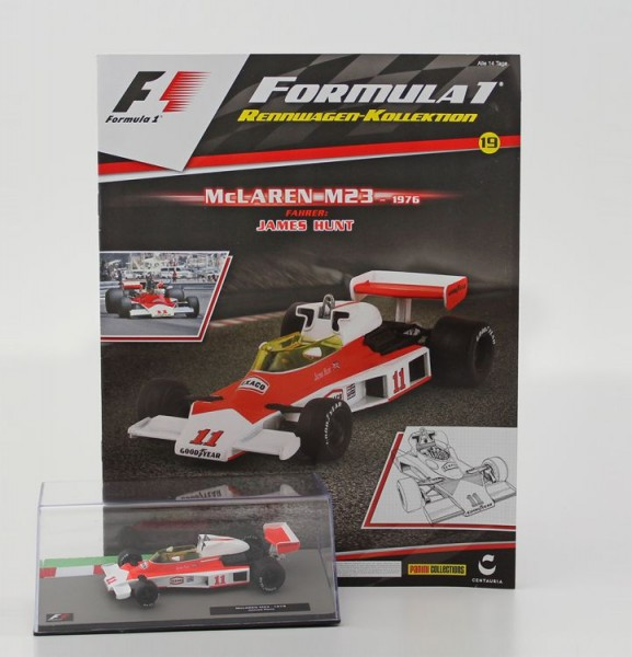 Formula 1 Rennwagen-Kollektion 19: James Hunt (McLaren M23)