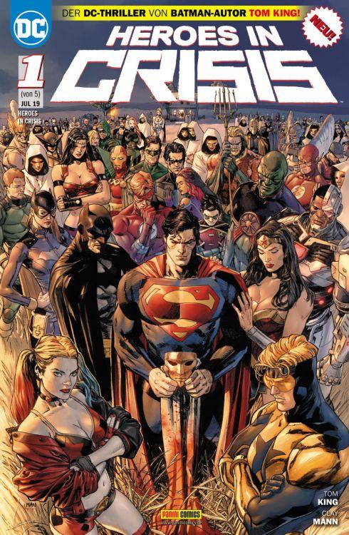 Heroes in Crisis #1-4