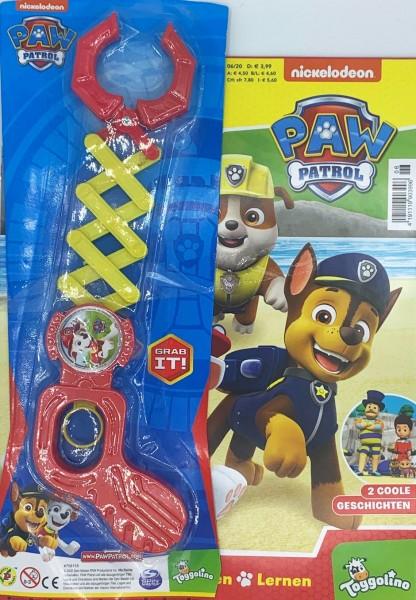 Paw Patrol 06/20 Magazin Cover mit Überraschungsextra Grabber