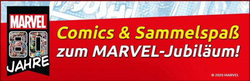 Comics und Sammelspaß zum Marvel-Jubilaeum