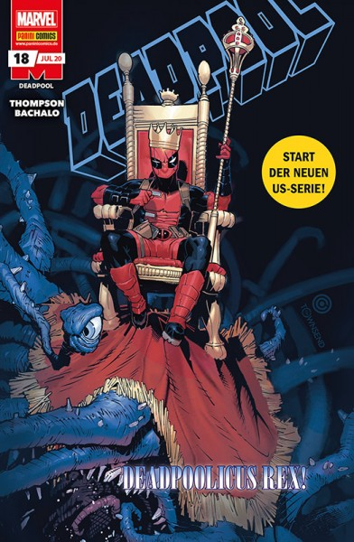 Deadpool 18 Cover