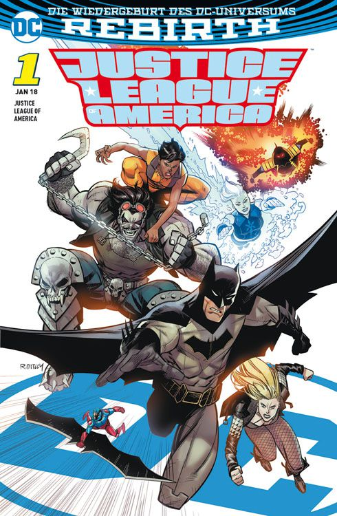 Justice League of America 1: Die...
