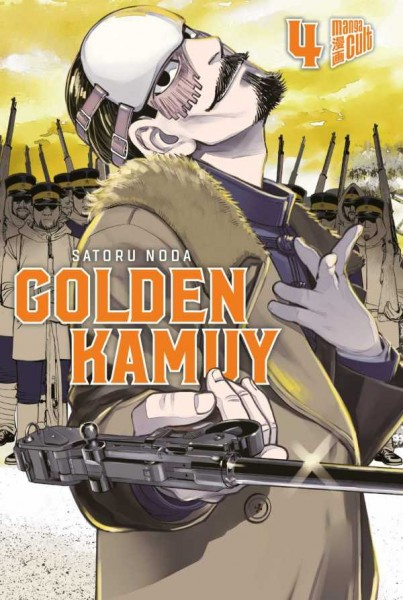 Golden Kamuy 4 Cover