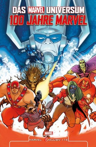 Marvel Exklusiv 115: Das Marvel-Universum - 100 Jahre Marvel