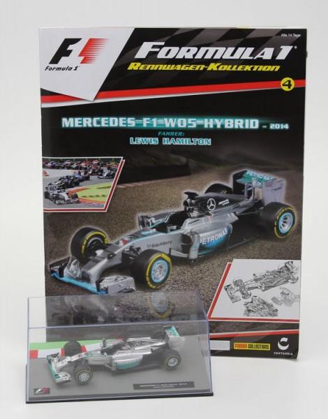 Formula 1 Rennwagen-Kollektion 4: Lewis Hamilton (Mercedes F1 W05)