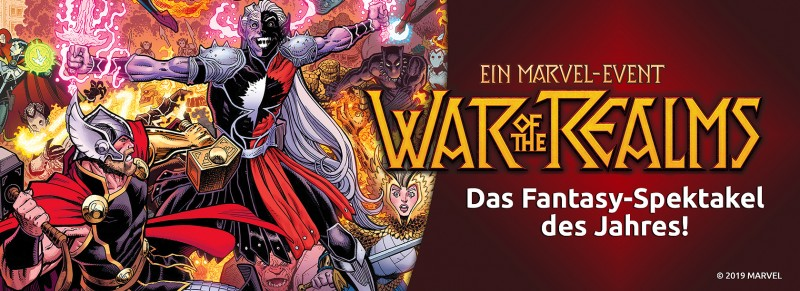 War of the Realms – Das Fantasy Spektakel des Jahres!