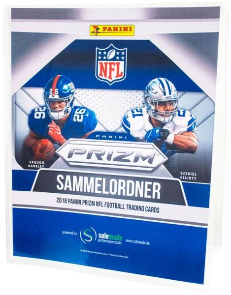 NFL 2018 Panini PRIZM Trading Cards - Sammelordner