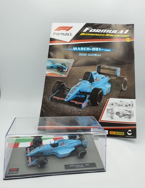 Formula 1 Rennwagen-Kollektion 77: Ivan Capelli (March 881)
