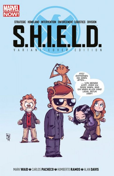 S.H.I.E.L.D. 1 Comic Action 2015 Variant