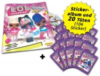 L.O.L. Surprise! Fashion Fun! Stickerkollektion - Sammelbundle