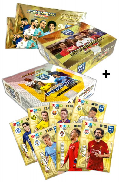Panini FIFA 365 Adrenalyn XL 2020 Kollektion – Cards-Megapack