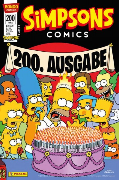 Simpsons Comics 200