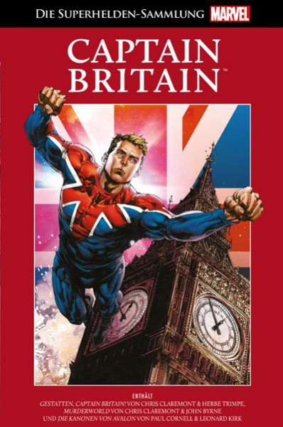 Die Marvel Superhelden Sammlung 46: Captain Britain