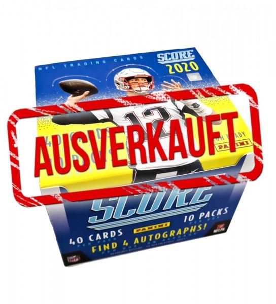 NFL 2020 Score Football Trading Cards - Hobbybox ausverkauft
