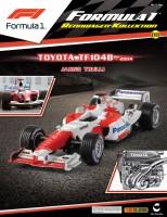Formula 1 Rennwagen-Kollektion 88: Jarno Trulli (Toyota TF104B) Magazin Cover