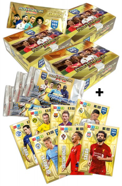 Panini FIFA 365 Adrenalyn XL 2020 Kollektion – Triple-Pack
