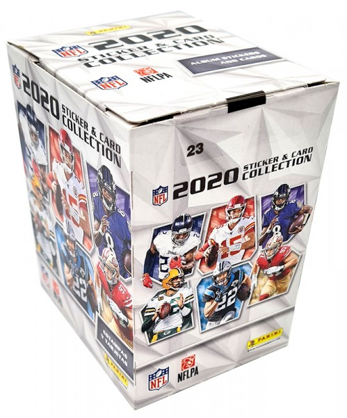 NFL 2020 Sticker & Trading Cards - Box