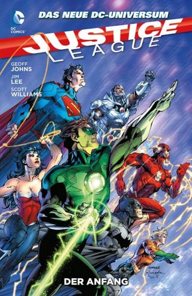 Justice League Paperback 1 (2013) - Der Anfang Hardcover