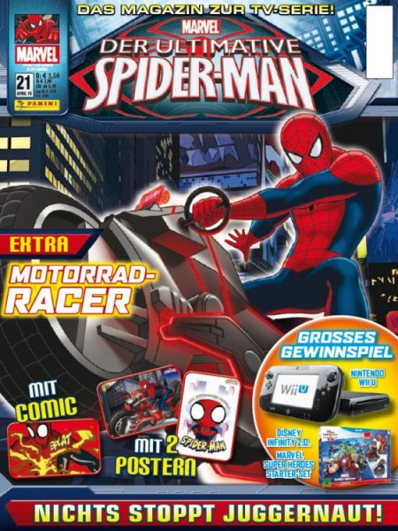Der ultimative Spider-Man - Magazin 21