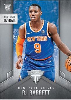 NBA Chronicles 2019/20 Trading Cards - RJ Barrett