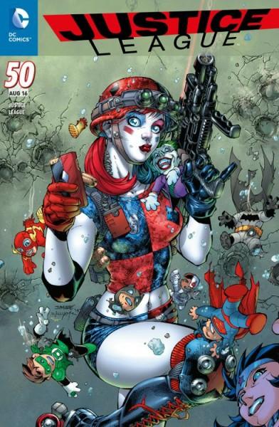 Justice League 50 Variant - Comic Con Stuttgart