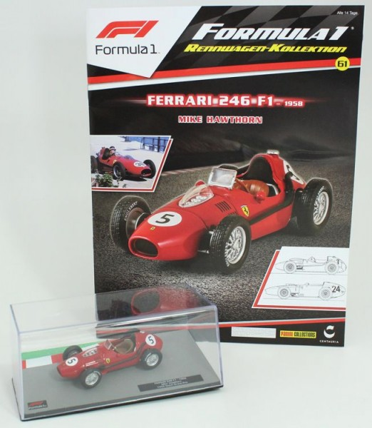 Formula 1 Rennwagen-Kollektion 61: Mike Hawthorne