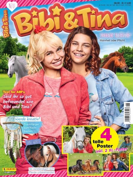 Bibi & Tina Magazin 06/20 Cover