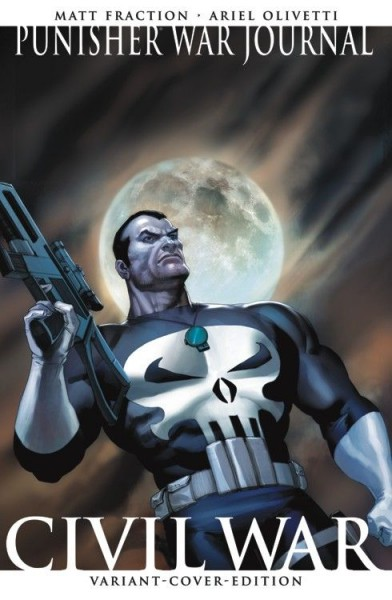 Punisher War Journal 1 Variant