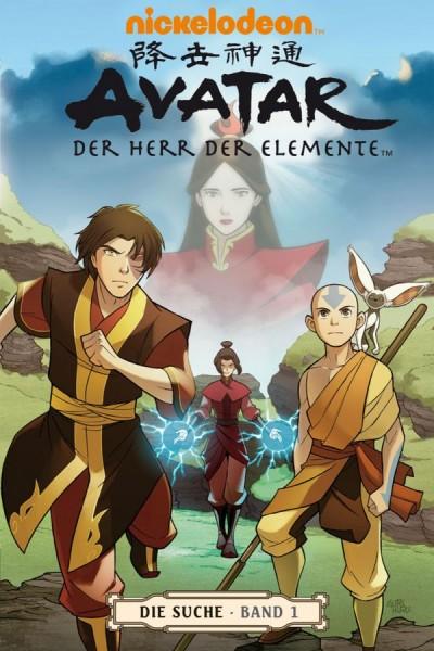 Avatar - Der Herr der Elemente 5: Die Suche 1 - Cover