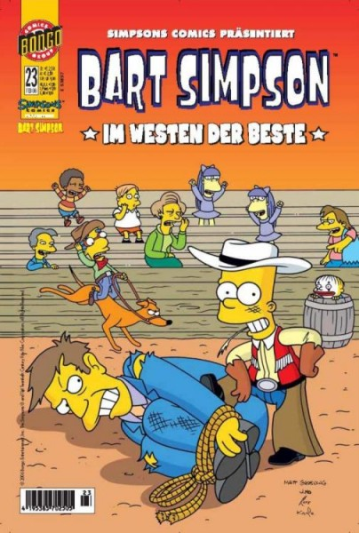 Bart Simpson Comics 23