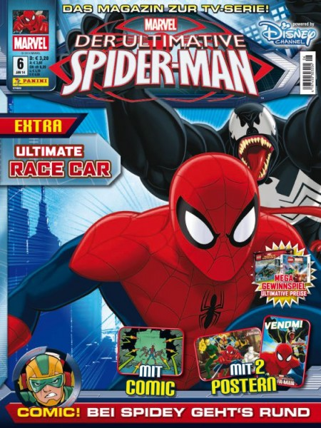 Der ultimative Spider-Man - Magazin 6