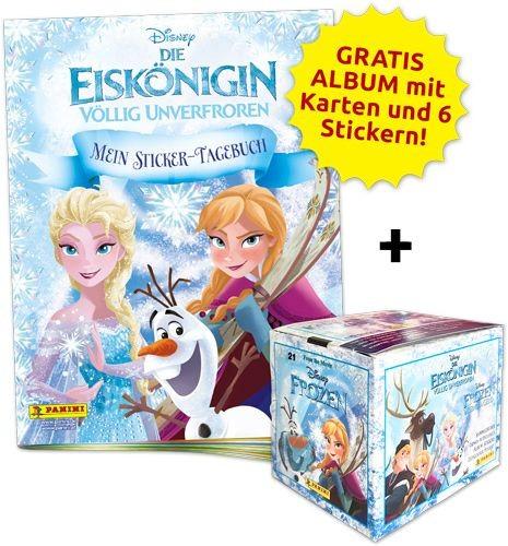 Disney: Die Eiskönigin - Mein Sticker-Tagebuch - Sticker-Starter-Bundle