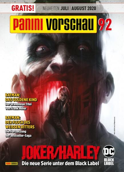 Panini Vorschau 92 (03/20) Juli/August 2020