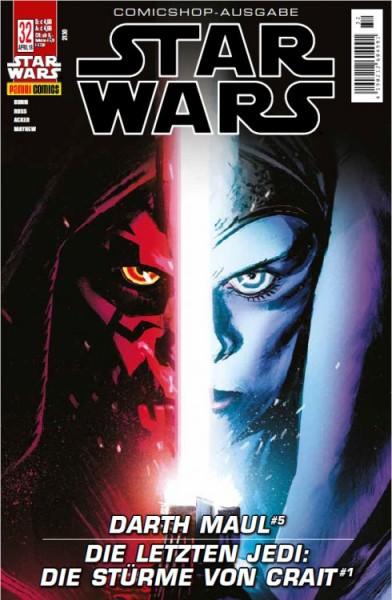 Star Wars 32: Darth Maul 5 / Die letzten Jedi: Die Stürme von Crait - Comicshop-Ausgabe