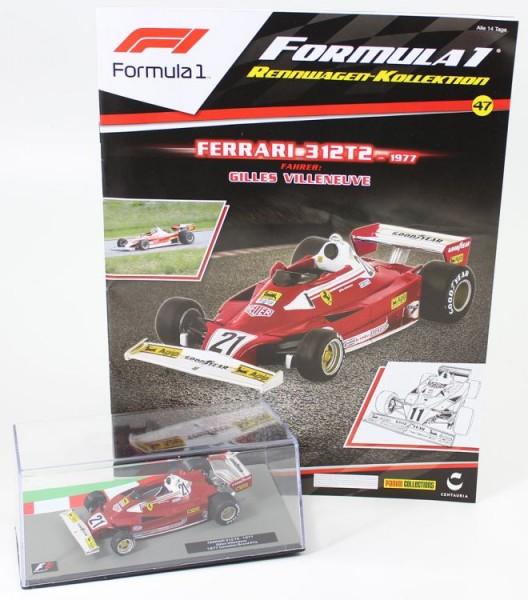 Formula 1 Rennwagen-Kollektion 47: Gilles Villeneuve (Ferrari 312T2)