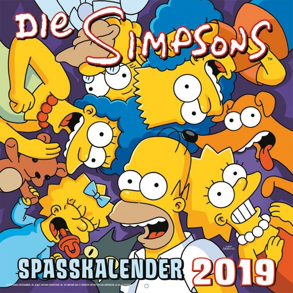 Simpsons - Wandkalender (2019)