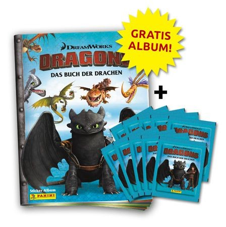 Dragons: Das Buch der Drachen Stickerkollektion - Bundle 2