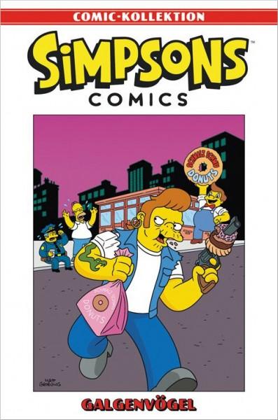 Simpsons Comic-Kollektion 35: Galgenvögel Cover