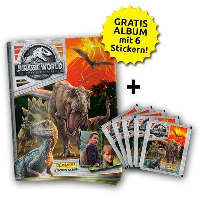 Jurassic World Movie Stickerkollektion - Bundle 2