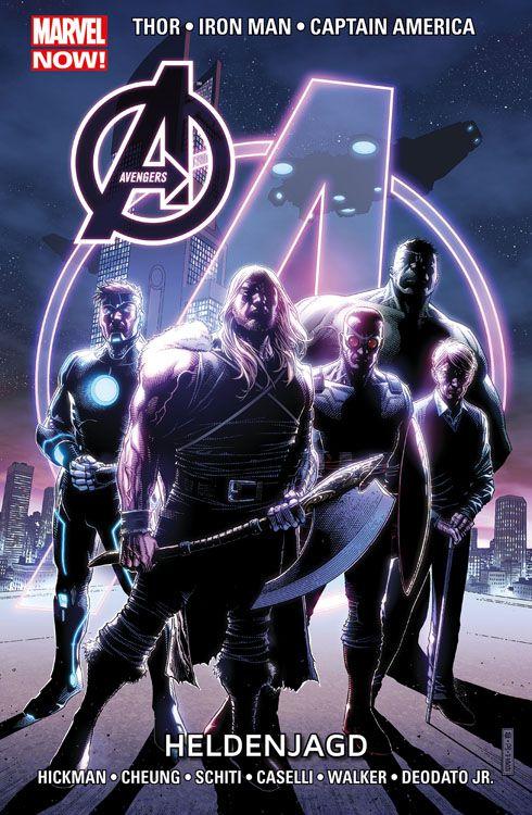 Avengers Paperback 6 (2014): Heldenjagd