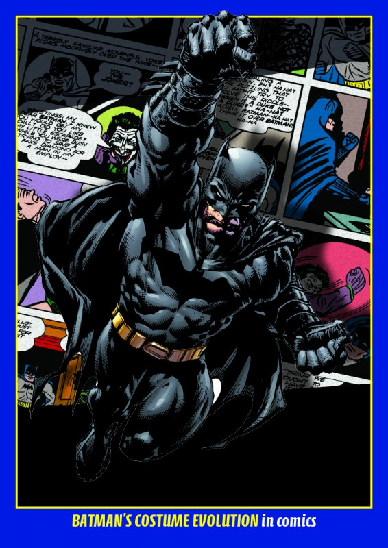 80 Jahre Batman Jubiläumskollektion: Batman Costume Evolutions Trading Card