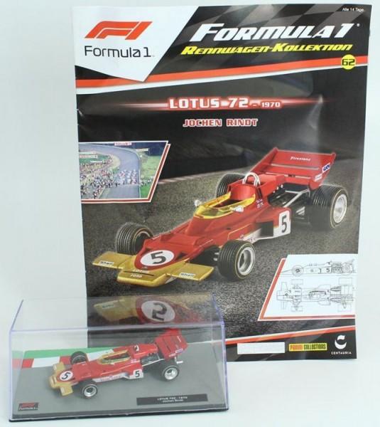 Formula 1 Rennwagen-Kollektion 62: Jochen Rindt (Lotus 72)