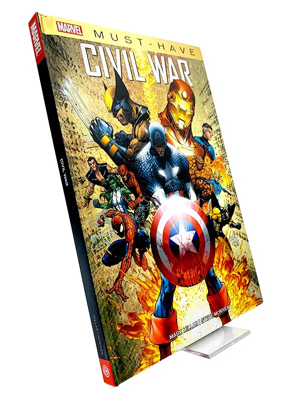 Marvel Must Have: Civil War Cover