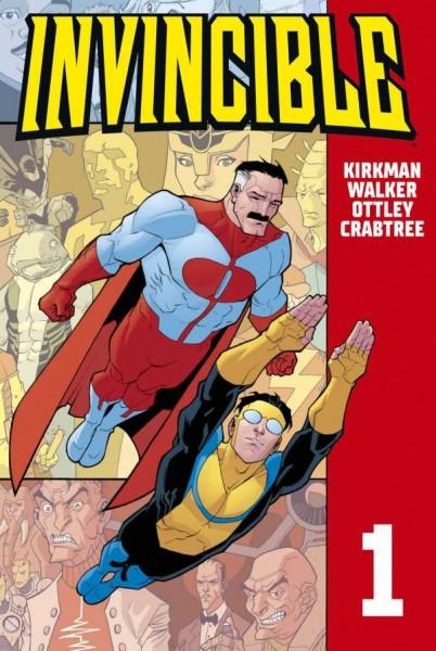 Invincible 1 Cover
