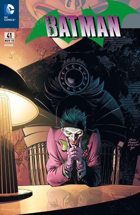 Batman 41 (2012) Joker Variant